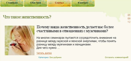 анонс wordpress
